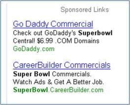 Super Bowl Search Ads